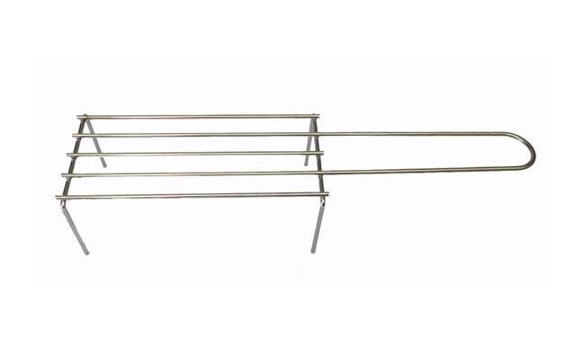Graticola 5 barre filo metallico
