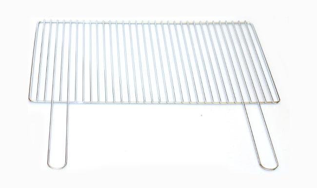 Griglia a due manici in filo metallico