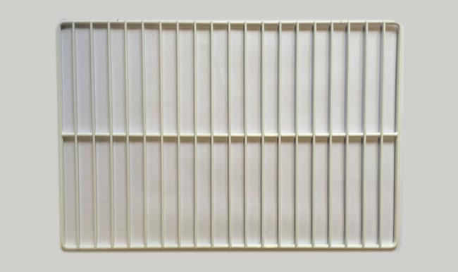 Griglia per frigorifero industriale in filo metallico plastificato